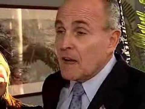 Mayor Rudy Giuliani in New Hampshire January 26, 2007