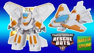 Blades the Flight-bot jet airplane Transformers Rescue Bots toy videos for children toys