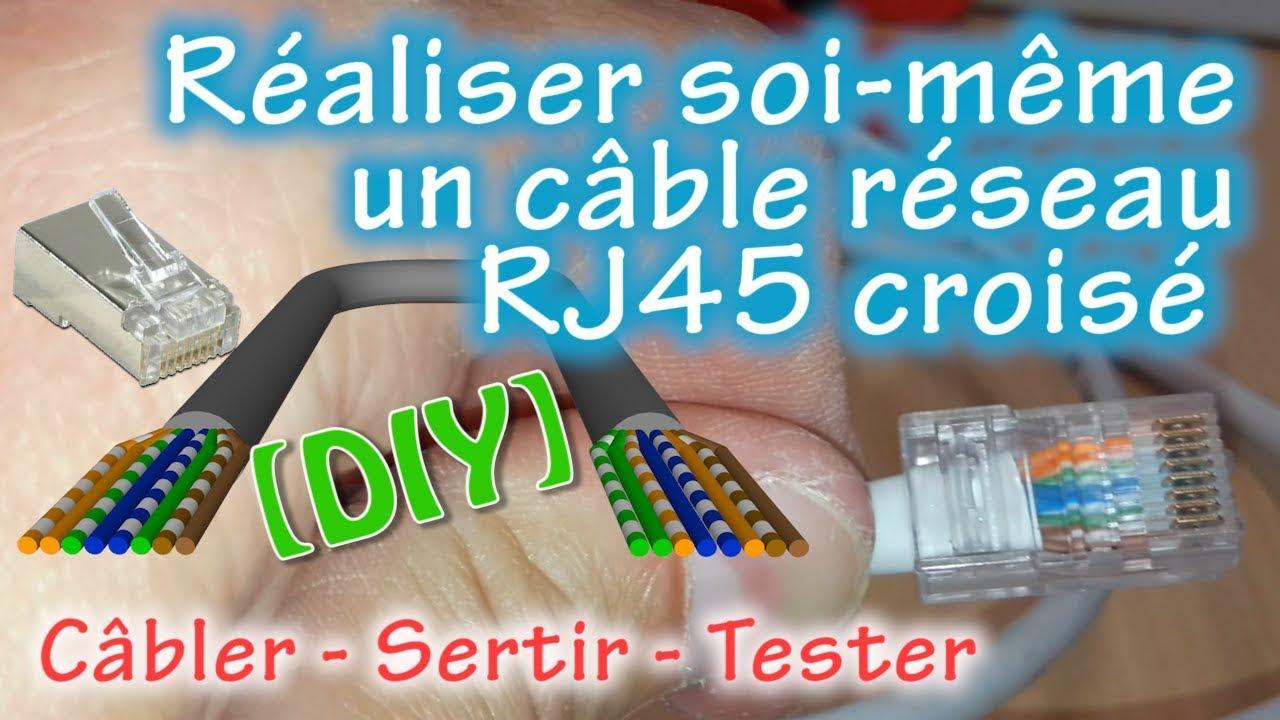 Comment Faire Soi Même Un Câble Ethernet Rj45 Croisé