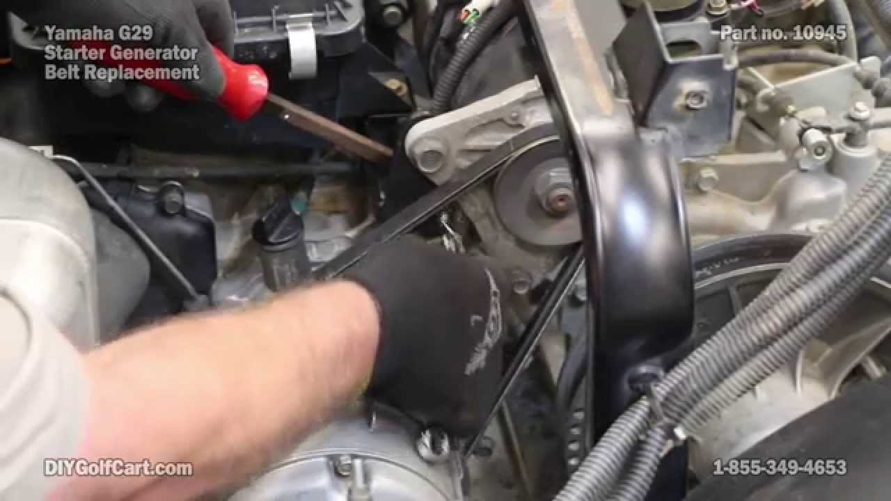 Yamaha Starter Belt | How to Install on G29 Drive Golf