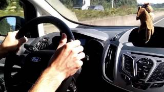 homepage tile video photo for Ford C-Max Diesel on Autobahn 210kph / The Reality of the Autobahn...