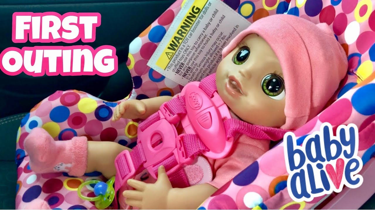 Baby Alive Real As Can First Outing To Walmart Including