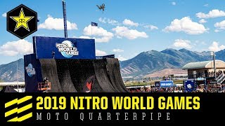 2019 Nitro World Games | Moto Quarterpipe