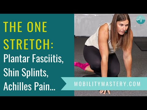 How to Relieve Plantar Fasciitis, Shin Splints, Achilles Pain and Compartment Syndrome