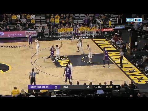 northwestern-at-iowa---men's-basketball-highlights