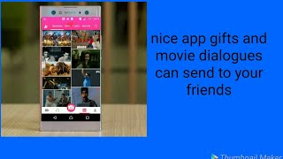 How to make gifts and movie dialogues in your mobile phone
