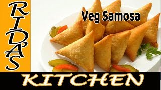 Vegetable Samosa Restaurant style & Home madeVegetable samosa | Ramadan special by Rida