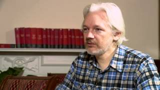 Julian Assange: 'Orwellian horror' of Google Glass, & in bed with state dept (FULL INTERVIEW)