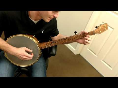 Gabe's new banjo