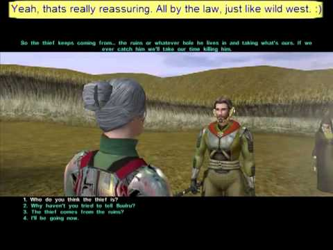Star Wars KotOR 2: TSL walkthrough - Part 32 - Trading in Jedi junk