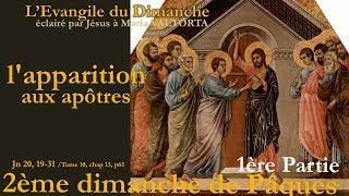 Maria Valtorta : Evangile du dimanche : 2ème Dimanche de Paques 1ère partie