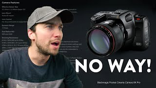 Reacting to the Pocket 6K Pro | Excited and Annoyed | Blackmagic's New Pocket Cinema Camera