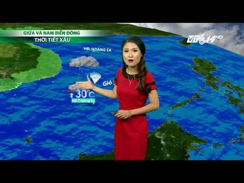 VTC14 | Thời tiết 6h 04/10/2017| Ninh Bình đến Quảng Ninh mưa vẫn xuất hiện