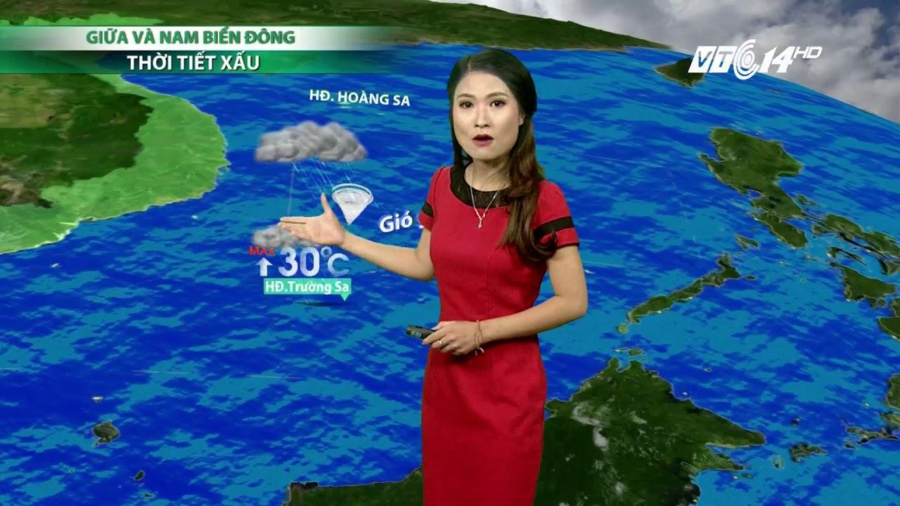 VTC14 | Thời tiết 6h 04/10/2017| Ninh Bình đến Quảng Ninh mưa vẫn xuất hiện | Thông tin thời tiết hôm nay và ngày mai