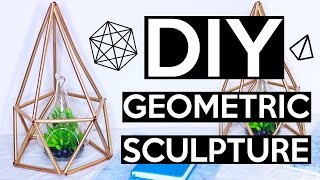 DIY Himmeli Geometric Sculpture | PINTRY