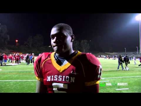 Jahleel Pinner post game interview after Long Beach Poly Victory