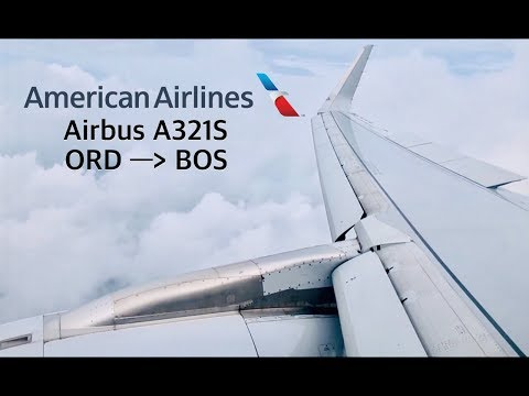 FLIGHT REPORT: American Airlines Airbus A321S (32B) Main Cabin | Chicago (ORD) To Boston (BOS)