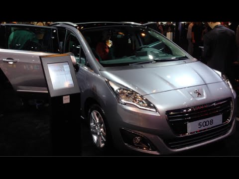 peugeot 5008 2015 in detail review walkaround interior exterior youtube. Black Bedroom Furniture Sets. Home Design Ideas