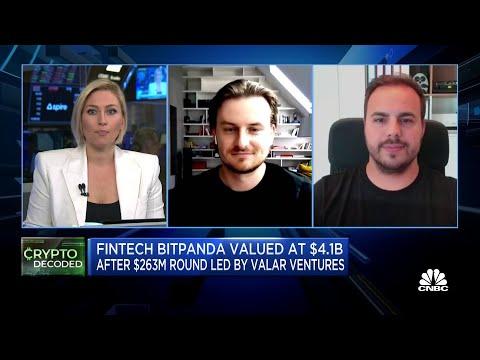 FinTech start-up Bitpanda now valued at $4.1 billion after new funding round