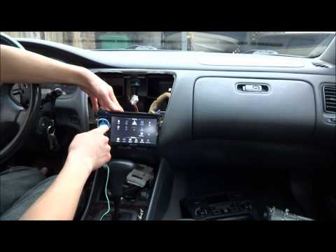 How To Install Car Stereo (Pioneer AVH-2400 In 2000 Honda Accord)