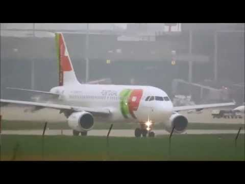 *Crazy Weather* Planespotting at Hannover