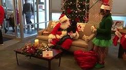 Santa Claus at the Osgood State Bank 12-1-18