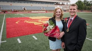 2015 Homecoming King & Queen - Pittsburg State University