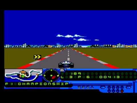F1 CHAMPIONSHIP MASTER SYSTEM