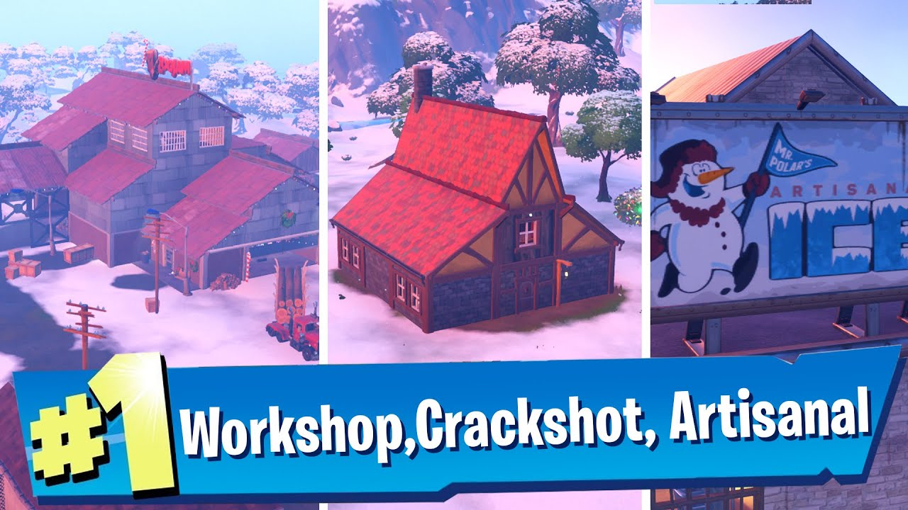Visit The Workshop, Crackshot's Cabin, and Mr Polar's ...