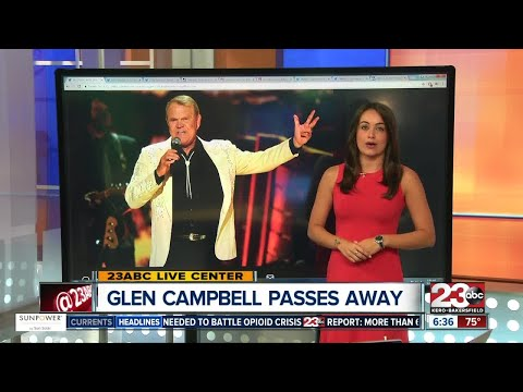 Country community mourns Glen Campbells' death