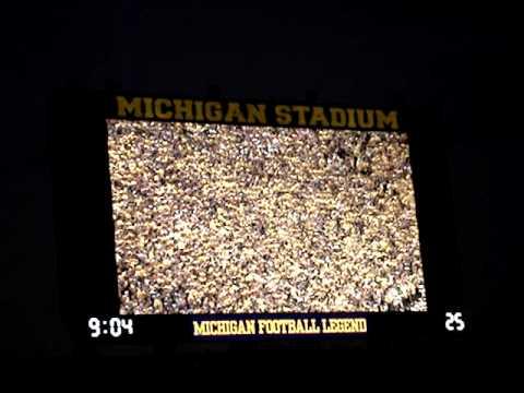 Desmond Howard Tribute - Michigan vs ND - 9/10/11