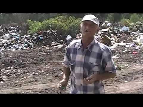 свалка в селе Новоживотинное. Рамонский район Воронежской области