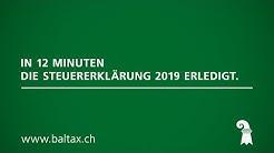 BalTax – In 12 Minuten die Steuererklärung 2019 erledigt.