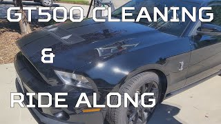 Cleaning a gt500 & ride along
