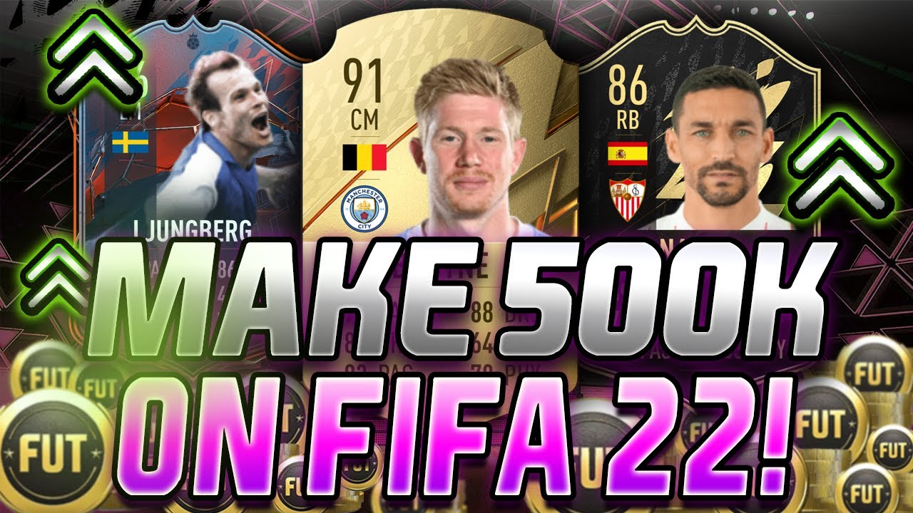 MAKE 500K THIS WEEK WITH THIS TRADING METHOD! HOW TO TRADE ON FIFA 22! BEST FIFA 22 TRADING TIPS!