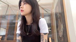 Vlog일상브이로그/셀프 앞머리 다듬기/데이트/성북동산…