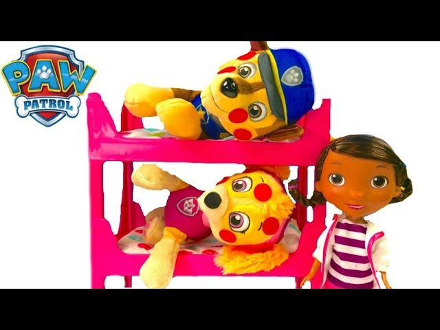 Best Learning Colors Video for Children  - Baby Paw Patrol Pups Skye & Chase are Sick