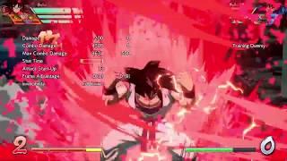 DRAGON BALL FighterZ 1x 3x 20x Base Goku Kaioken Attack Corner Routes