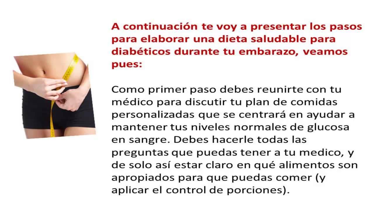 Dietas para embarazadas para prevenir complicaciones