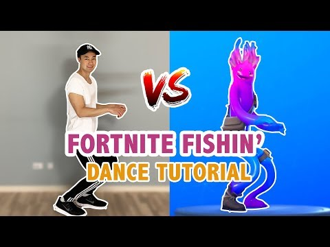 Fornite Fishin Dance In Real Life | Step By Step Tutorial