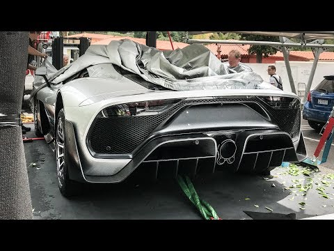 WORLD'S FIRST PRODUCTION SPEC Mercedes Project One Hypercar ACCIDENTAL REVEAL!!