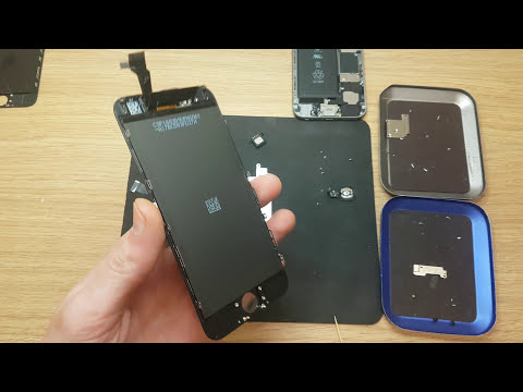 IT Consalting recovery Apple iphone 6g black display replace and phone clean