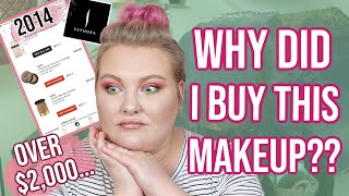 All The Makeup I Bought At Sephora in 2014!! Lots of Regrets... | Lauren Mae Beauty