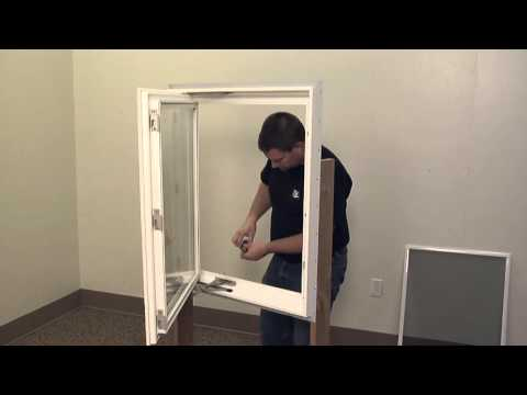 How to Replace a Dual Arm Operator on a Casement Window