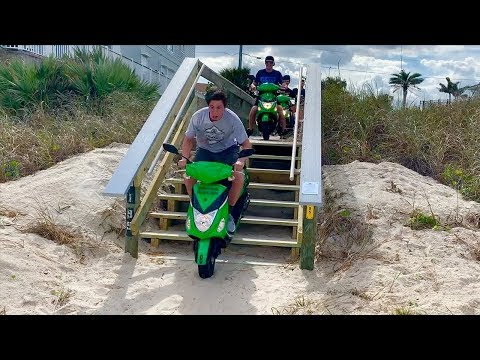 CRUISING MOPEDS!!! Last Day In Florida