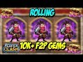FREE TO PLAY AMAZING 10K GEM ROLLING CASTLE CLASH