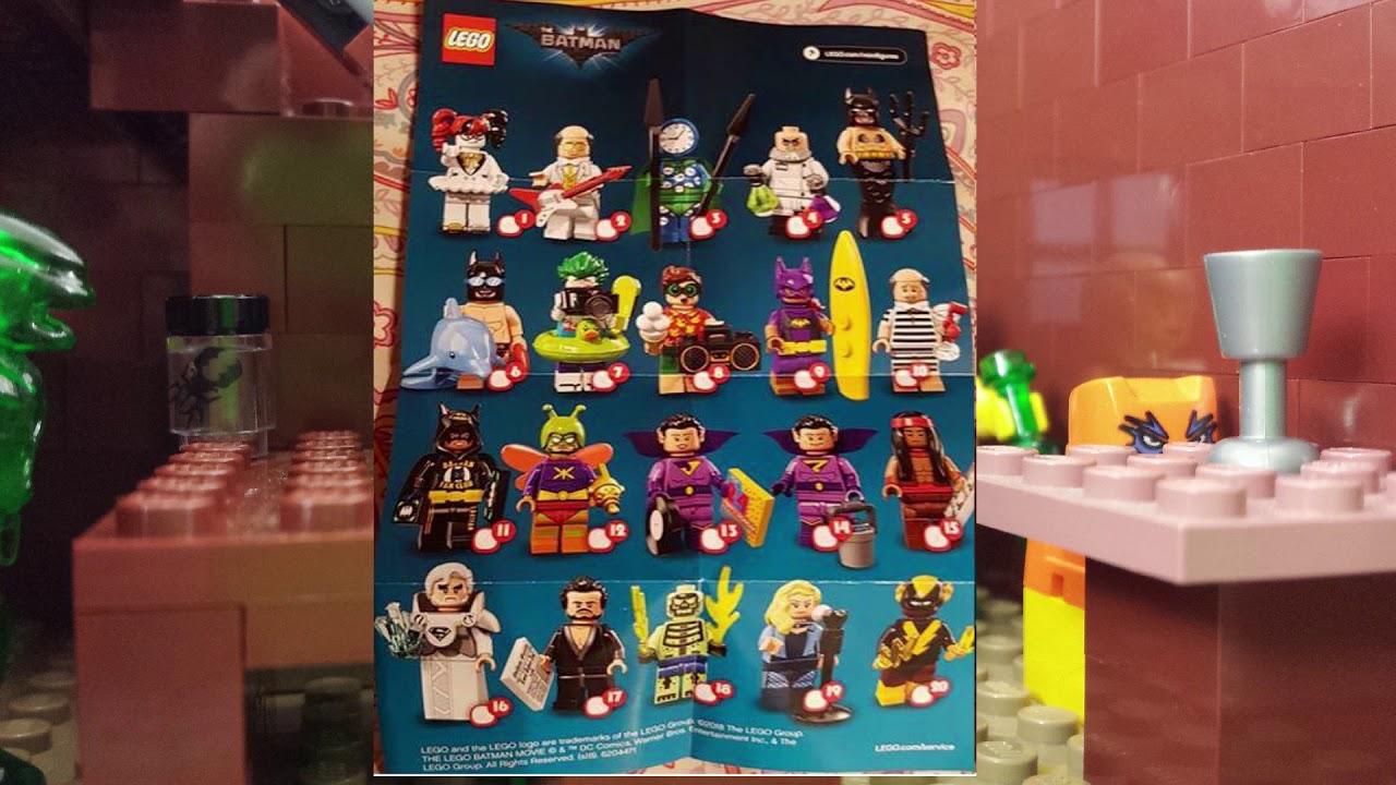 Leaked Lego Batman Movie Minifigure Series 2 2018 Cmf