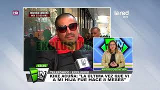 Kike Acuña aclara en Intrusos su disputa en tribunales con Roxana Muñoz
