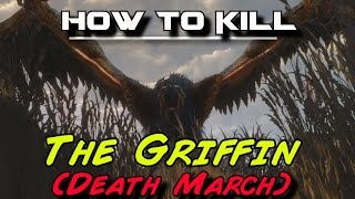 Witcher 3: How to Kill the Griffin on Death March difficulty | Tips & Strategies