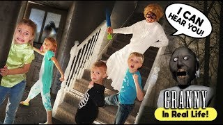 Granny's House Horror Game in REAL LIFE! | The TANNERITES